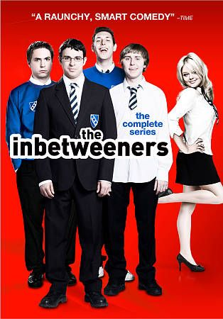 The Inbetweeners The Complete Series DVD, 2012, 3 Disc Set