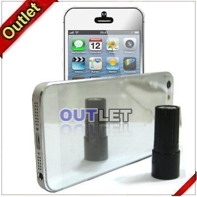 Mirror Full Body Front + Back LCD Screen Protector For iPhone 5