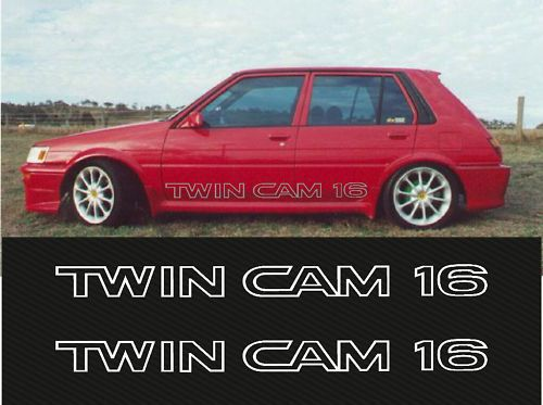 toyota corolla ae82 4age twincam sticker decal set from australia