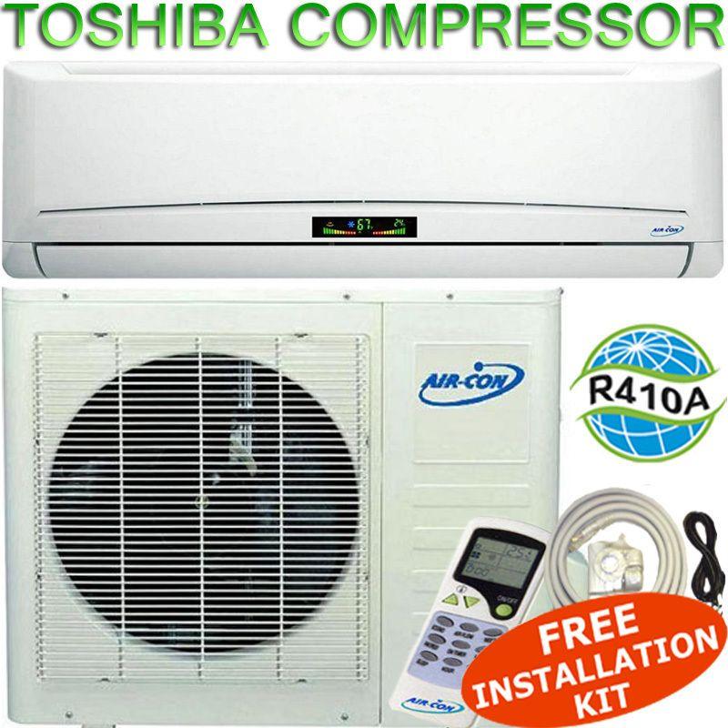12000 BTU Ductless Mini Split Air Conditioner   Heat Pump 12,000 BTU