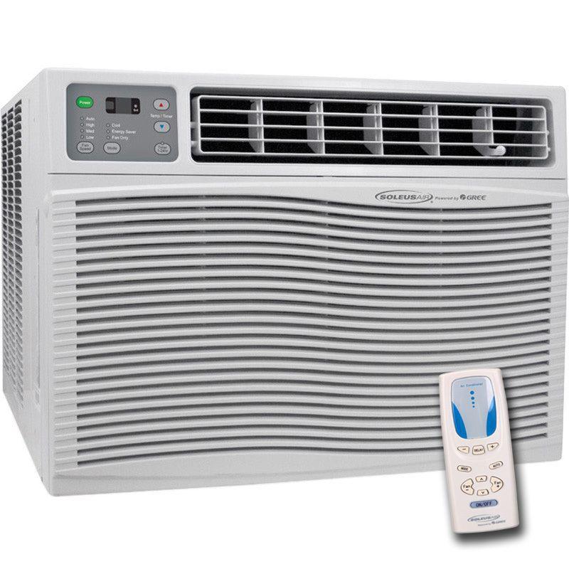 Window Air Conditioner Heater Portable AC Heat Pump Dehumidifier Fan