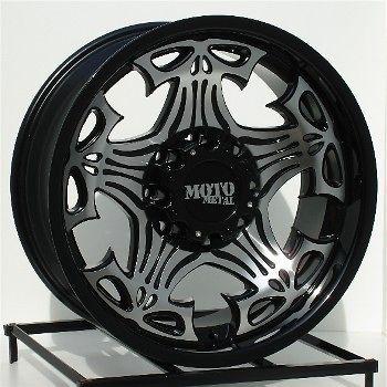 17 inch black wheels rims chevy dodge ram hd 2500