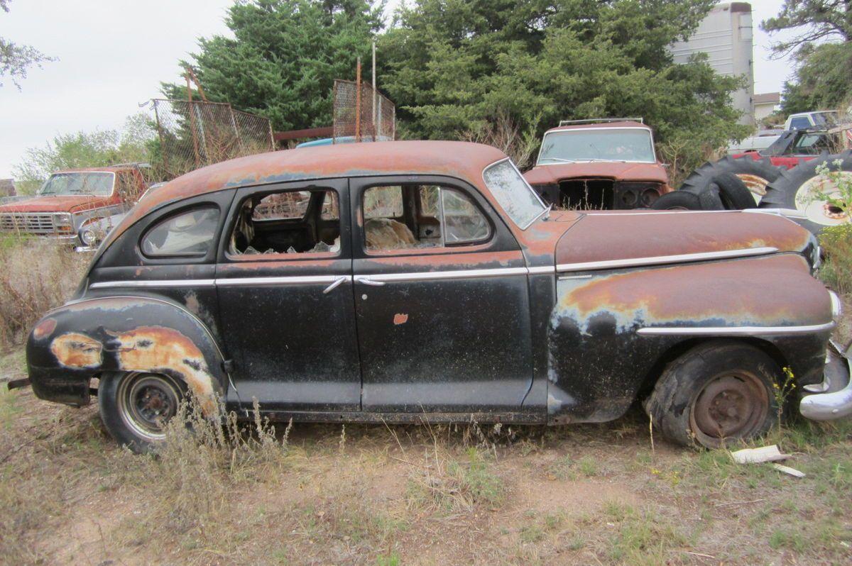 47 48 Yr Plymouth Special Deluxe Model Suicide 4 Door Parts Car 1941 2
