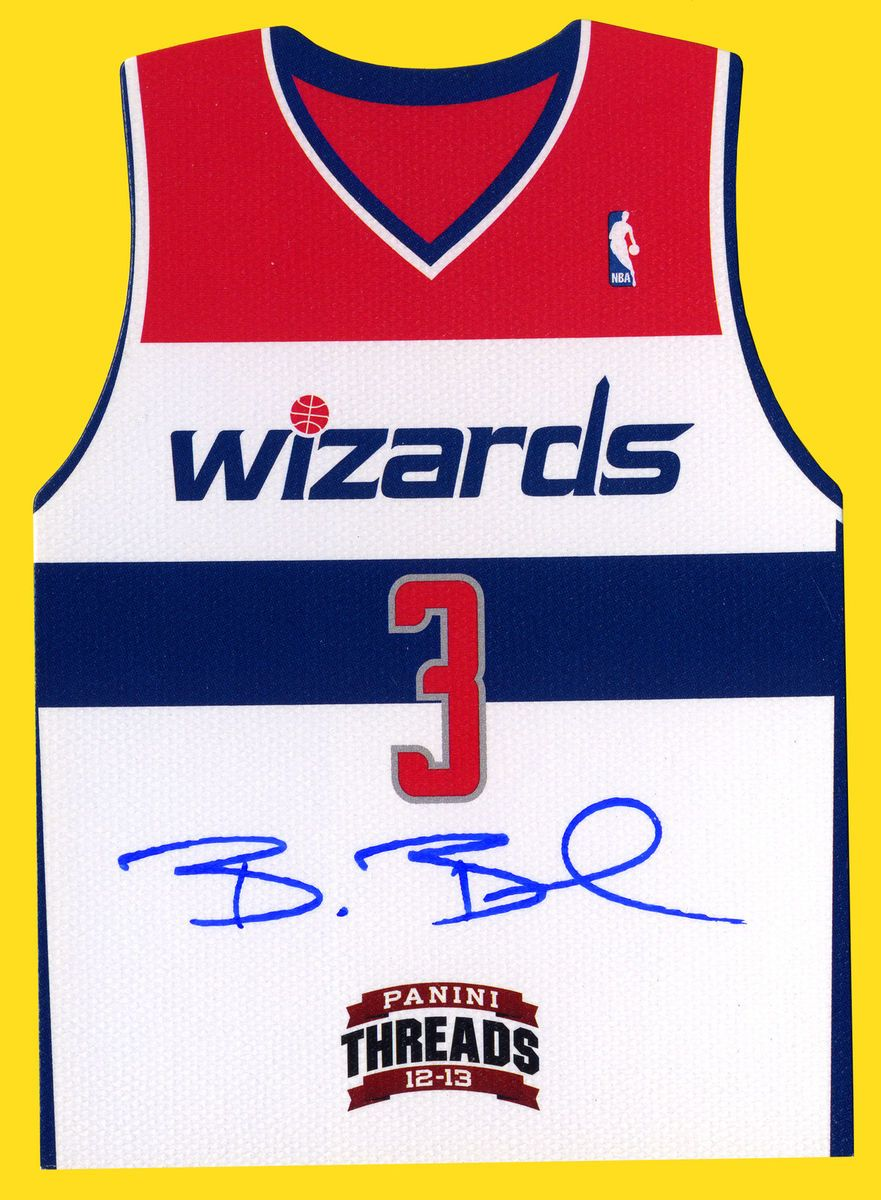 BRADLEY BEAL AUTO 2012 13 Panini Threads 18 Team Threads Die Cut