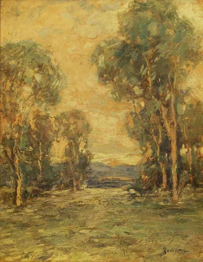 Paul Bernard King 1867 1947 Landscape Summer Time