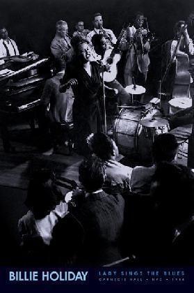 Billie Holiday Jazz Big Band Music Poster Concert