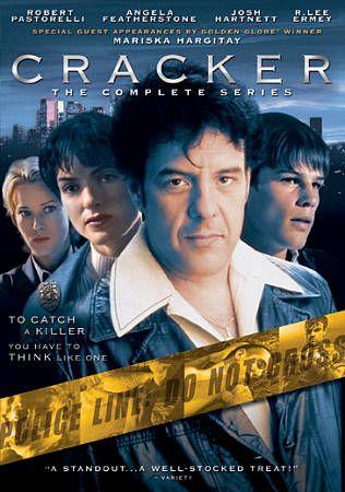 Cracker   The Complete Series DVD, 2009, 4 Disc Set