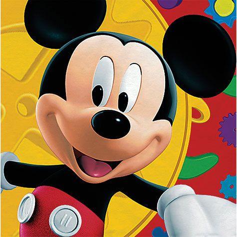 Disney Mickey Mouse Birthday Party Supplies Big Napkins