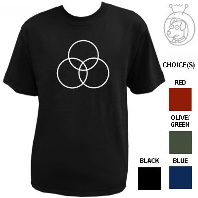 John Bonham Symbol LED Zeppelin Tribute T Shirt