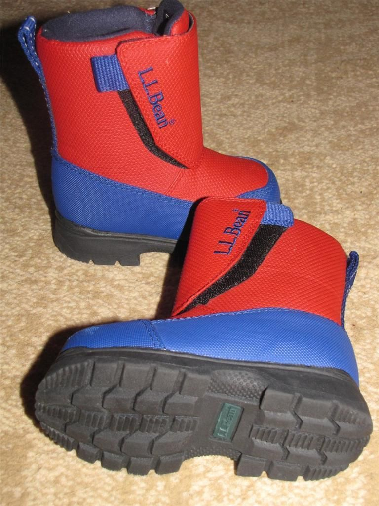 boys size 5 toddler ll bean winter snow boots new without tags