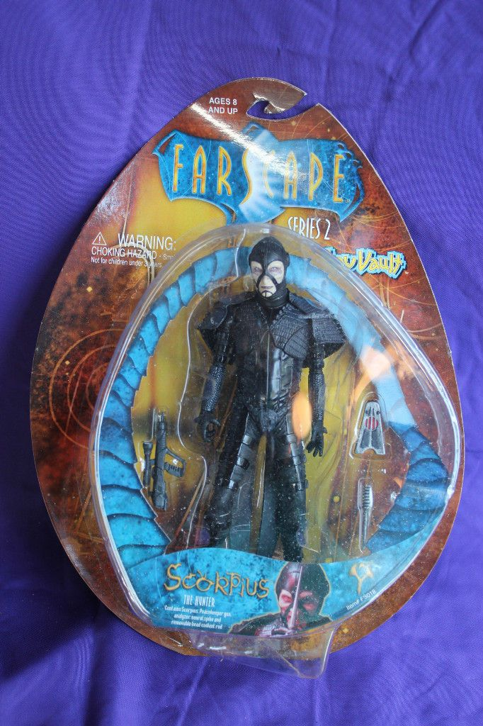 Farscape Scorpius Action Figure by Toy Vault The Hunter Serie 2
