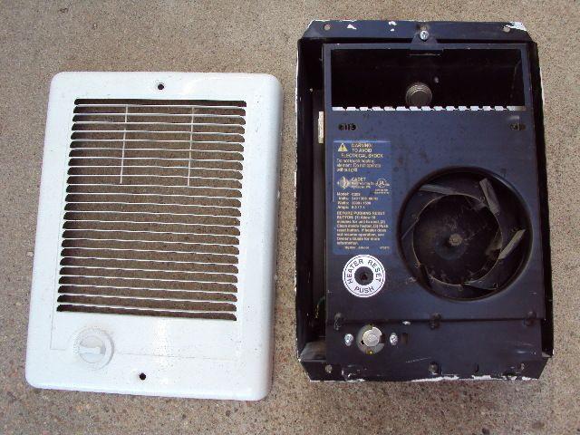 Cadet Fan Forced Electric Wall Heater C202 240V 2000 1500W