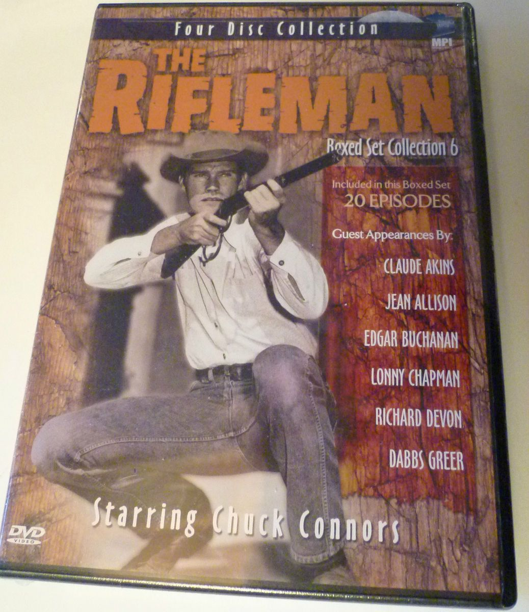 The Rifleman  Brand New Factory Sealed Boxed Set 4 disc Collection 6