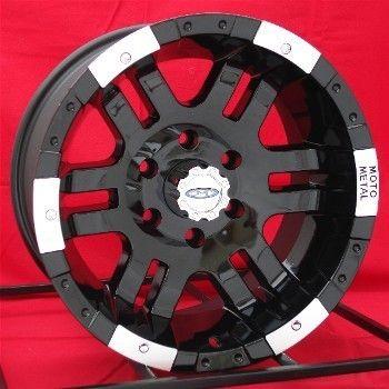 16 inch Black Wheels Rims Chevy GMC 1500 6 Lug Truck