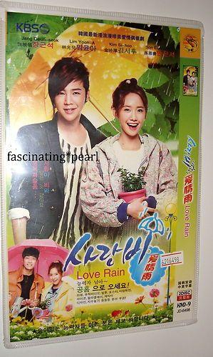Korean Drama DVD Love Rain Chinese English Used