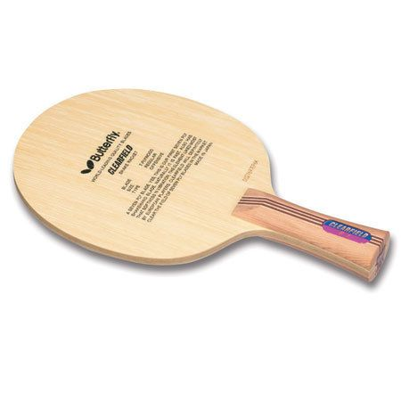 New Butterfly Clearfield Blade Table Tennis Ping Pong