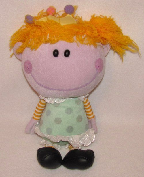 16 Nanco Blues Clues Room Show Frederica Fred Girl Plush Stuffed Doll