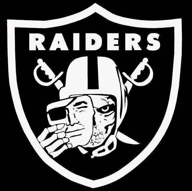 Raider Nation Skull 8 Decal Sticker Car Oakland Raiders California