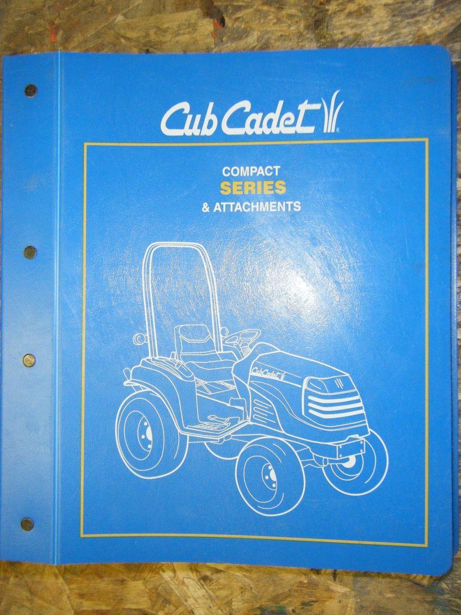Cub Cadet Compact Series 7000 5000 Tractors Attachments Parts Manual Engine Schematics