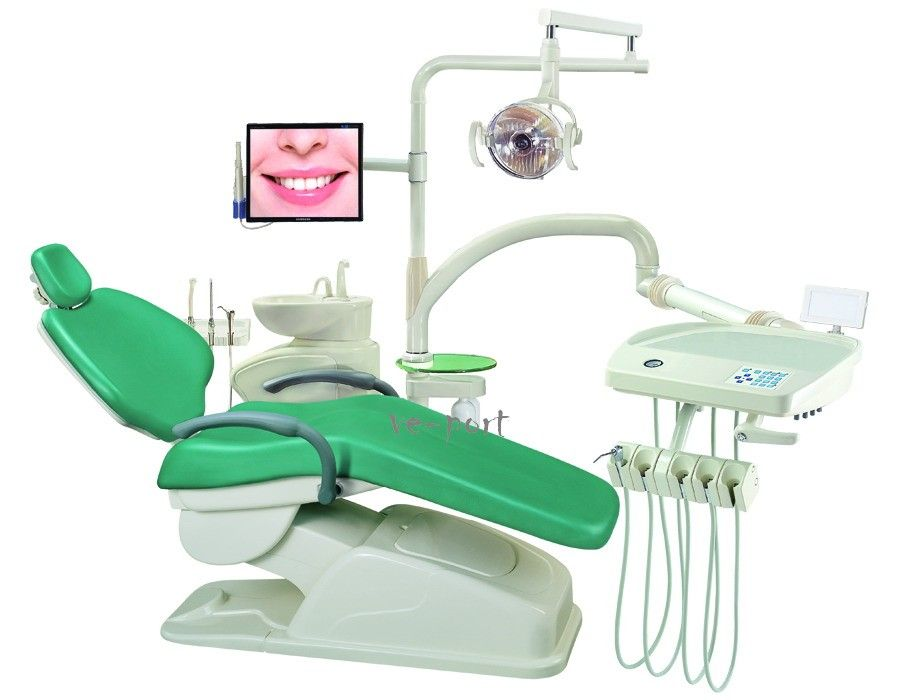 New Computer Controlled Dental Unit Chair FDA CE Approved Al 398HA PU
