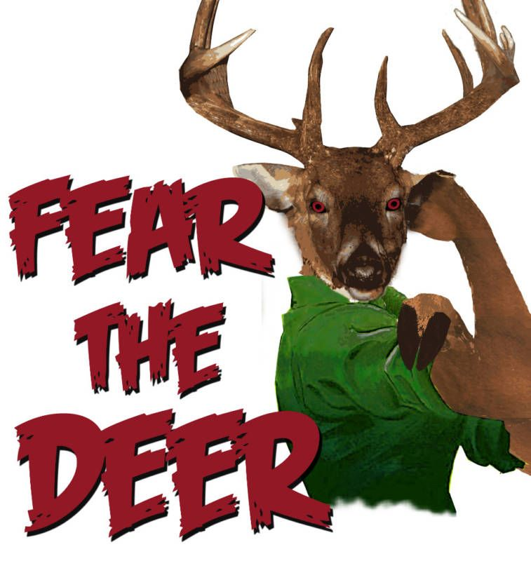 Nba Milwaukee Bucks Fear Deer Basketball Shirt