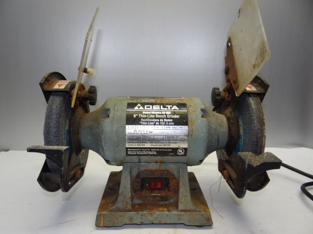 Used Delta Model 23 660 Thin Line 6 Inch Bench Grinder
