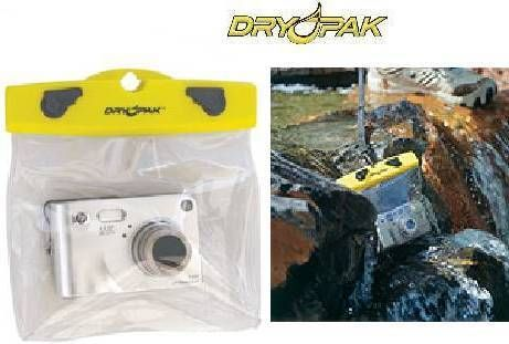 New Dry Pak Waterproof Camera Case Floats