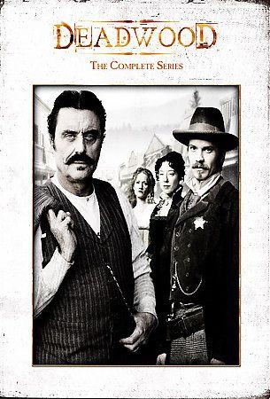 Deadwood The Complete Series DVD 2008 19 Disc Set DVD 2008