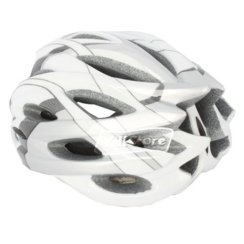 047 Bike Bicycle Cycle Helmet 24 Hole with Insect Nets Hoar