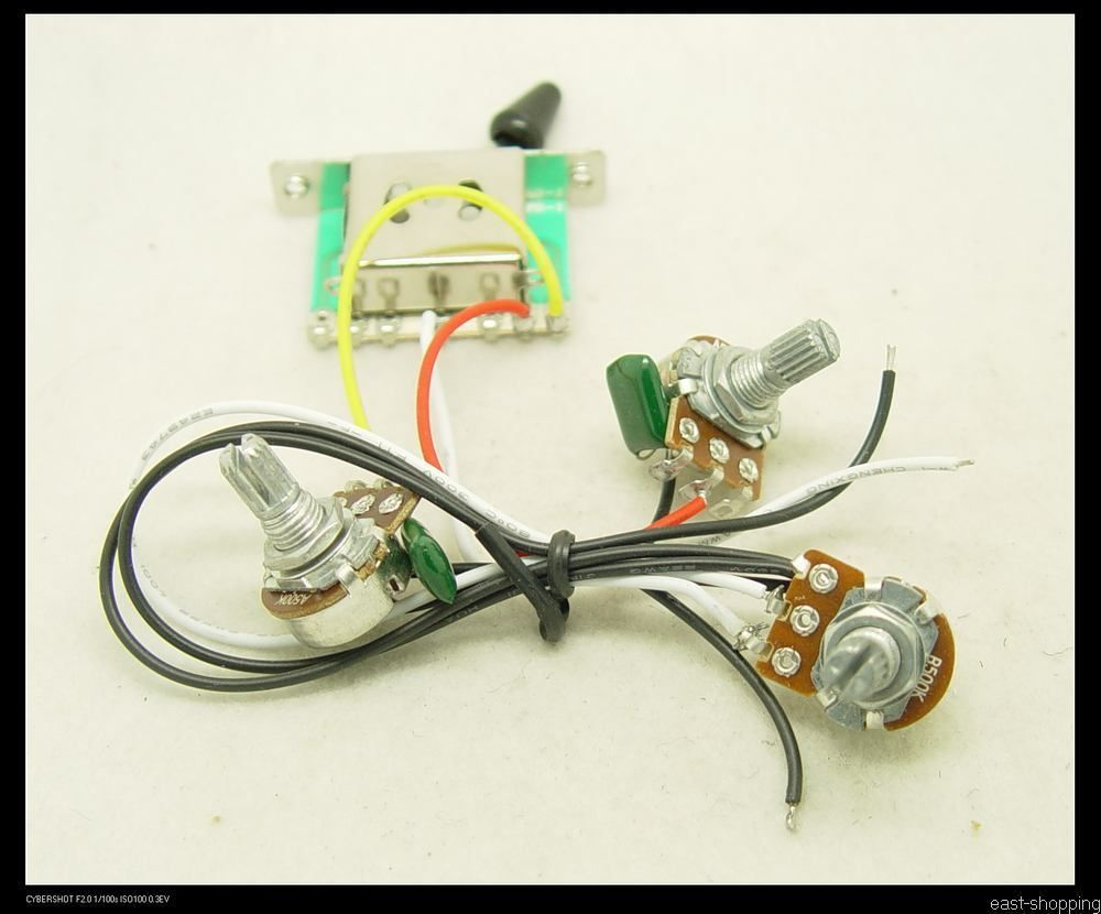 Wiring Harness For Fender Squier Stratocaster Electric Guitar