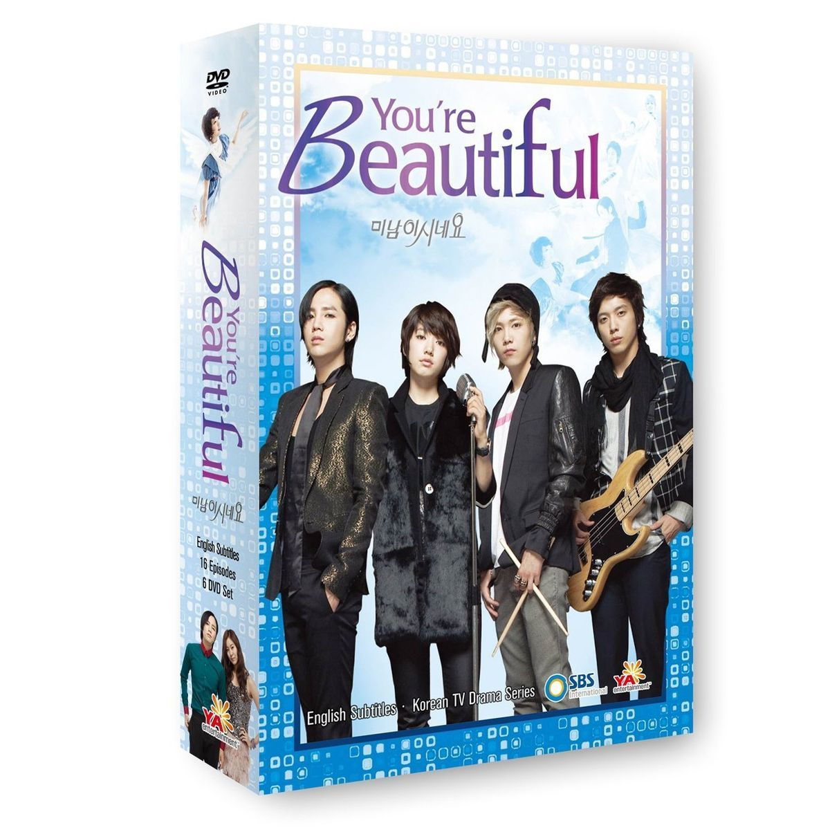 US Licensed K Drama Youre Beautiful Korean Drama English Subtitles