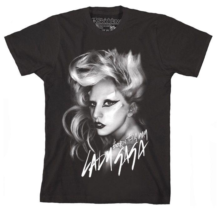 Lady Gaga T Shirt Monster Ball Tour Cigarette Glasses