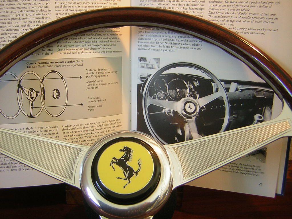 Ferrari 456 355 Nardi Wood Steering Wheel 15 New