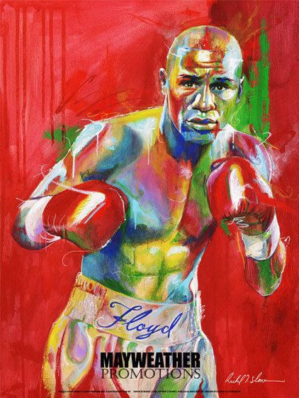 Floyd MAYWEATHER Jr Promotions Poster