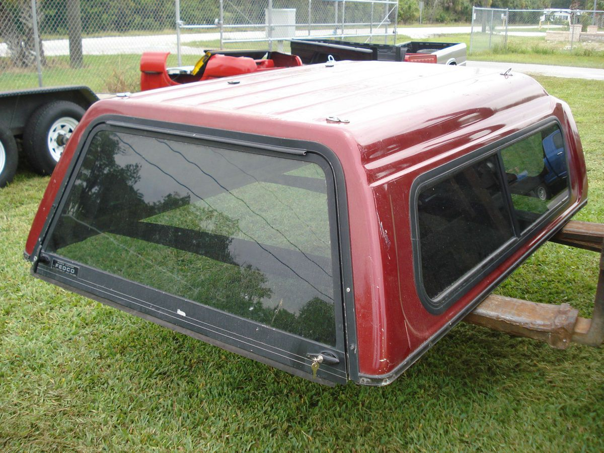 Fiberglass Topper Camper Bed Cover 6 Ft Foot Bed Chevy S10