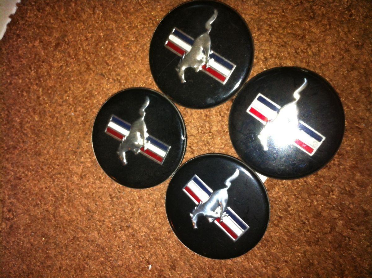 FORD MUSTANG WHEELS CENTER CAPS GT ROUSH COBRA SALEEM NICE CAPS