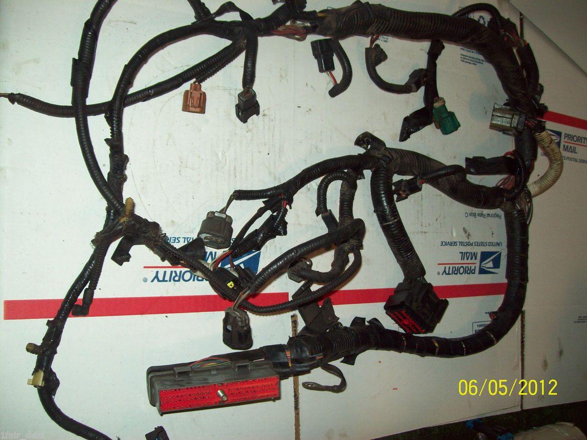 1997 Ford Explorer Xl 4 0l Engine Wiring Harness V6