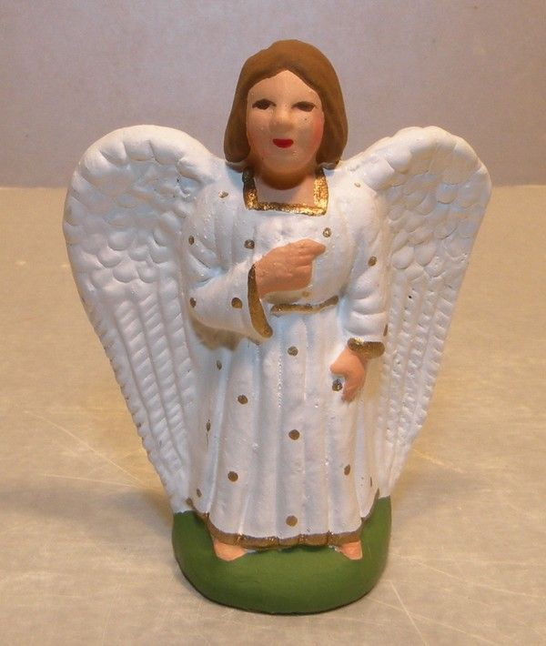 brand new white angel santon marcel carbonel number 1
