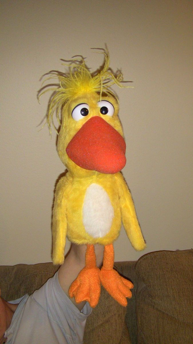 Full Body Duck Bird Puppet Pro Professional