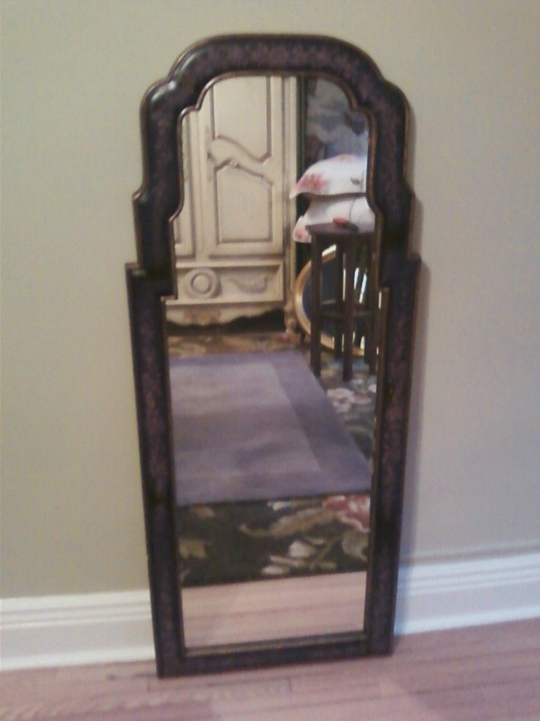 FULL LENGTH MIRROR   Vintage antique look to it   Very Pretty