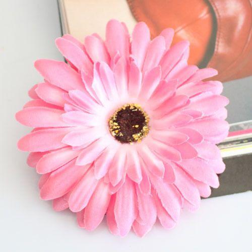 Gerbera Daisy Flower Hair Hat Clip Ponytail Holder