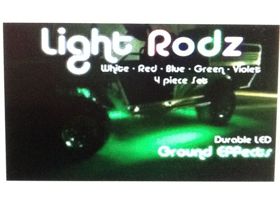 Golf Cart Glow Led Light Rodz Kit Under Cart Ground Effect Lights Sale
