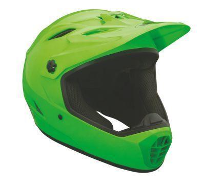 Bell Drop Bright Green Full Face Mountain Bike Helmet Small