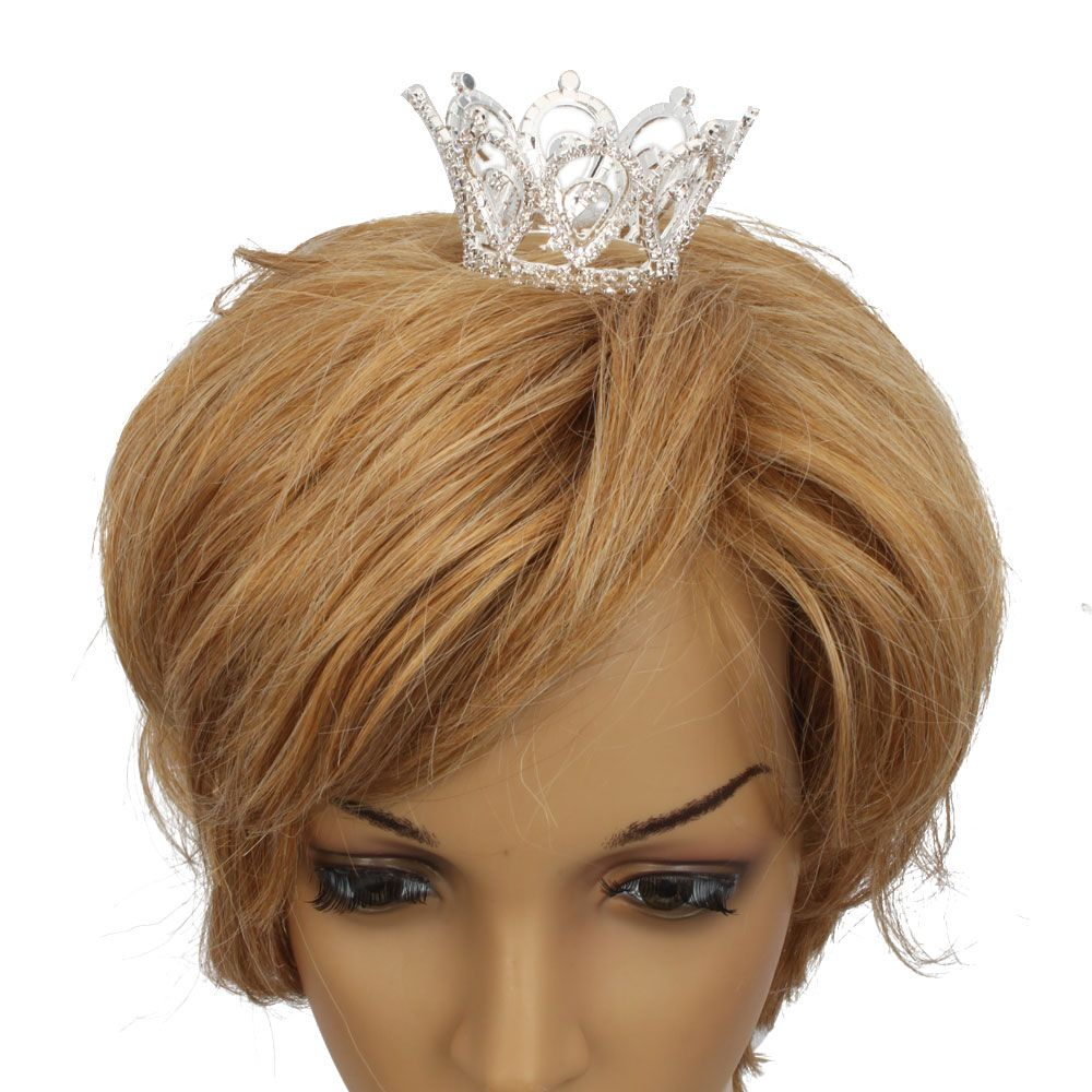 Wedding Bridal Waterdrop Style Rhinestone Crown Tiara Headbands