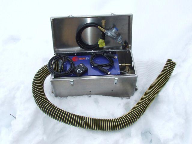 Propex Heatsource Portable Propane Heater for RV, Van, Tent