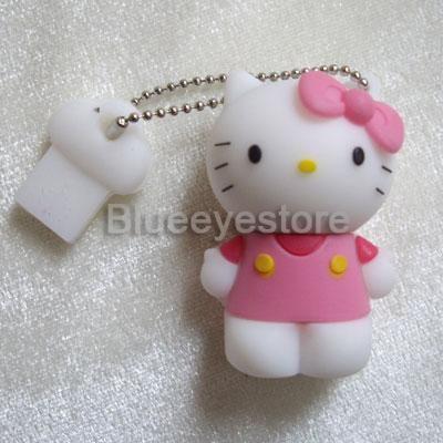 2gb pink hello kitty usb flash memory pen drive stick