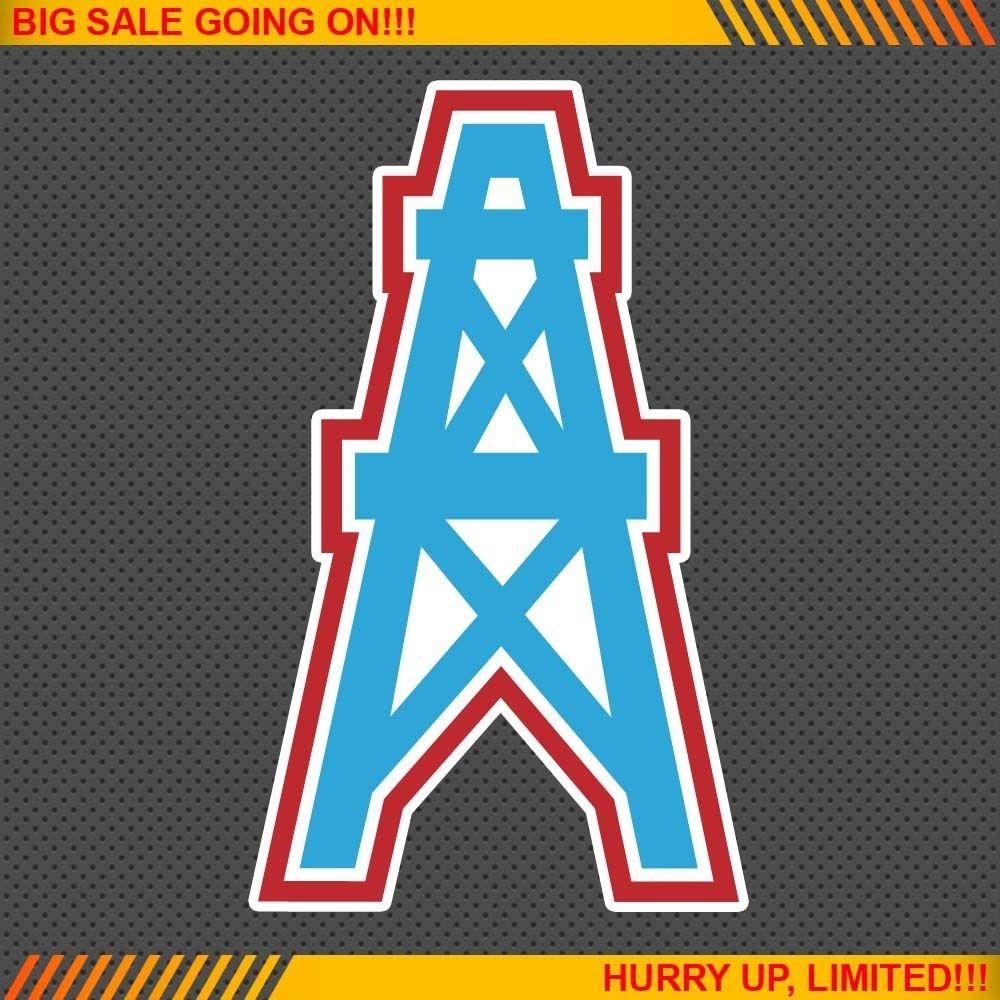 Houston Oilers NFL Football Logo Car Bumper Window Wall Sticker