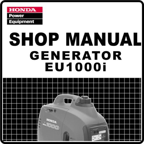 honda eui eu generator service repair manual