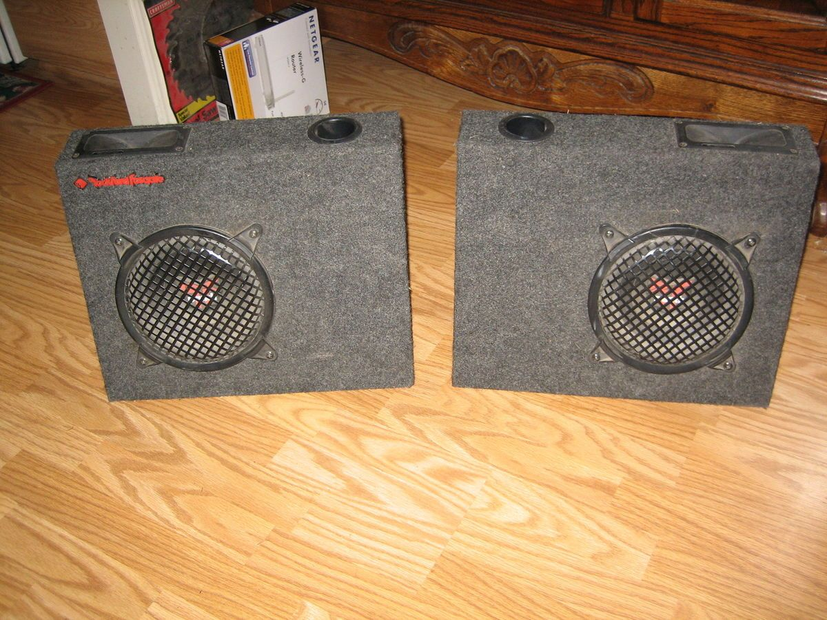 Rockford Fosgate Punch Car Stereo Speakers In Boxes 45 Hd