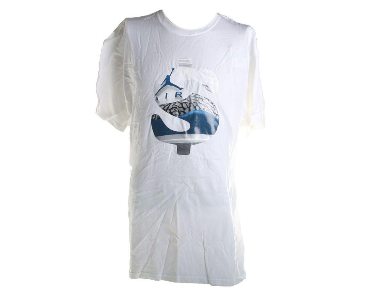 Nike Jordan Retro 5 Wht Mens J Money T Shirt 414158 100